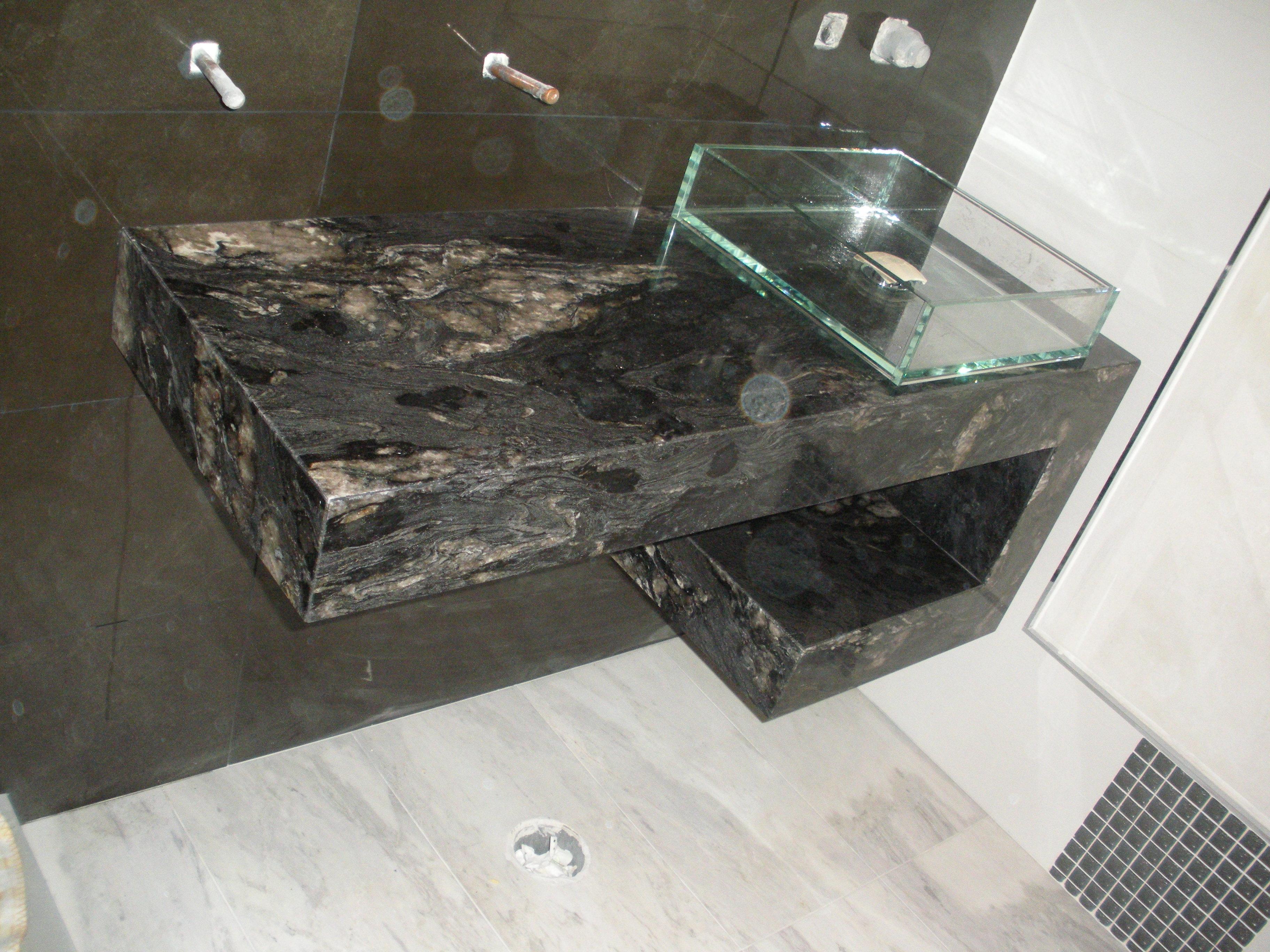 Encimera de granito stunning encimera de granito negro for Granito negro intenso